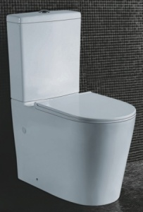 Rimless K-022 Wall faced toilet suite