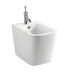 Square Wall Faced Bidet - K-203