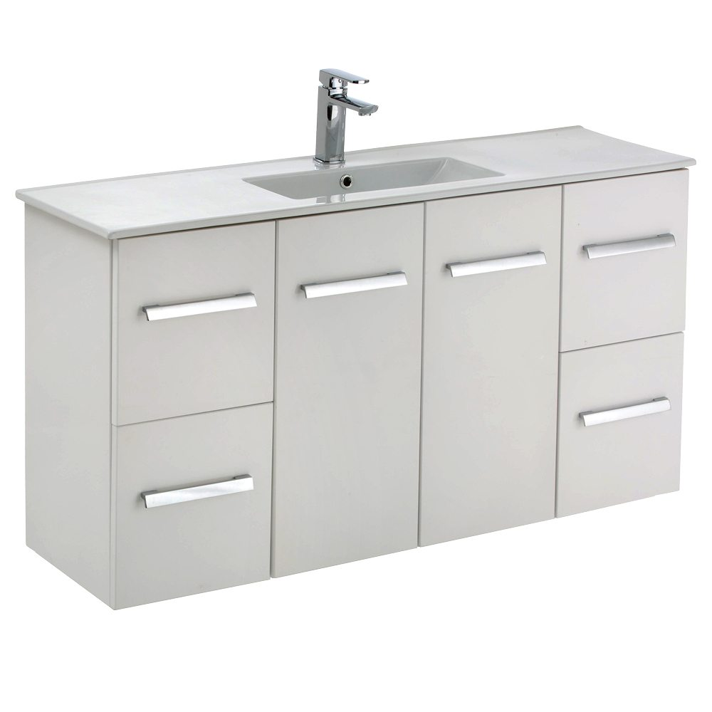 Delgado 1200 Wall Hung Slim Ensuite Vanity