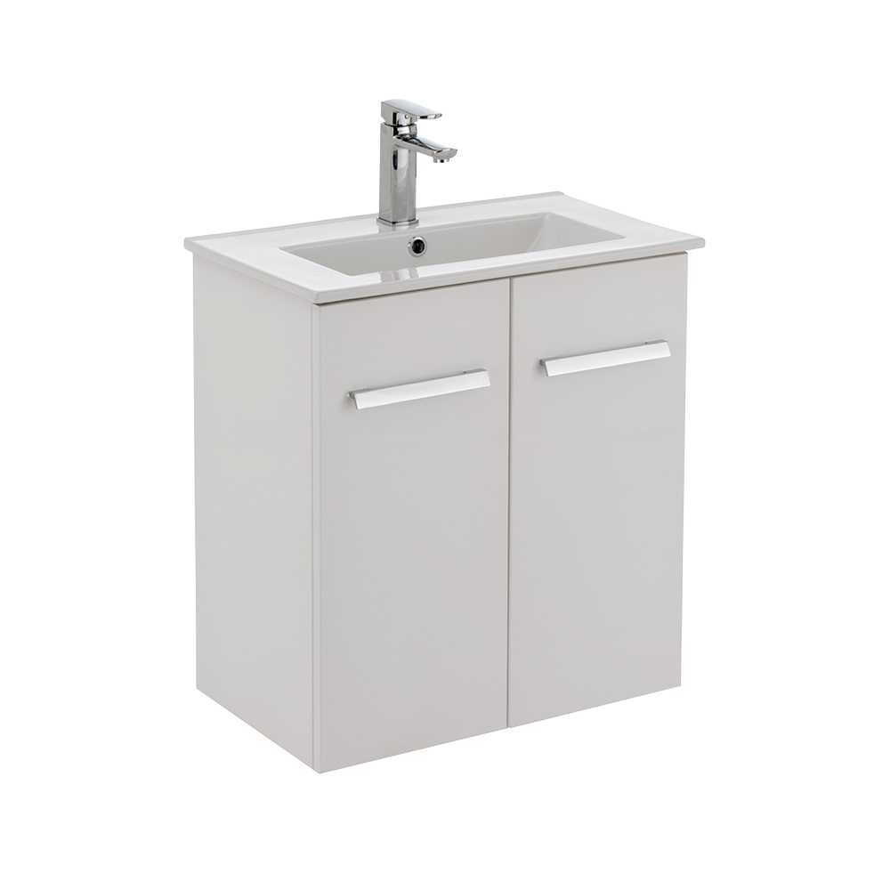 Delgado 600 Wall Hung Slim Ensuite Vanity