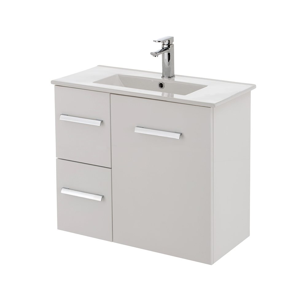 Delgado750 Wall Hung Slim Ensuite Vanity