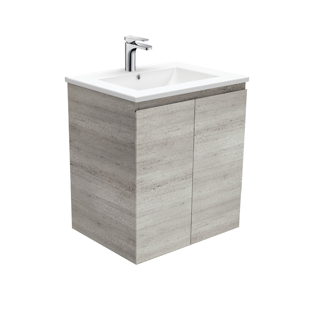 Dolce Edge Industrial 600 Wall-Hung Vanity