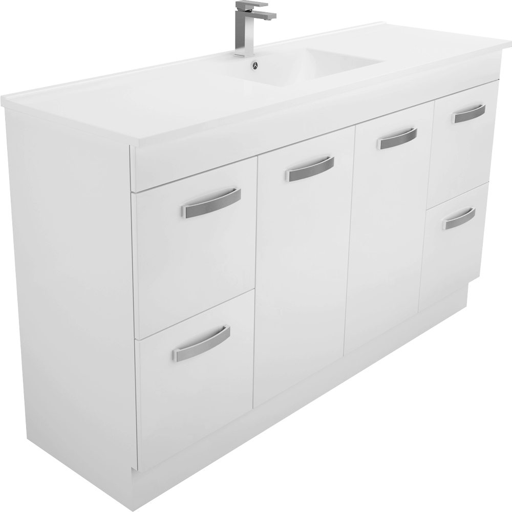 Dolce Vita Uni Cabinet Single 1500 Kicker Vanity