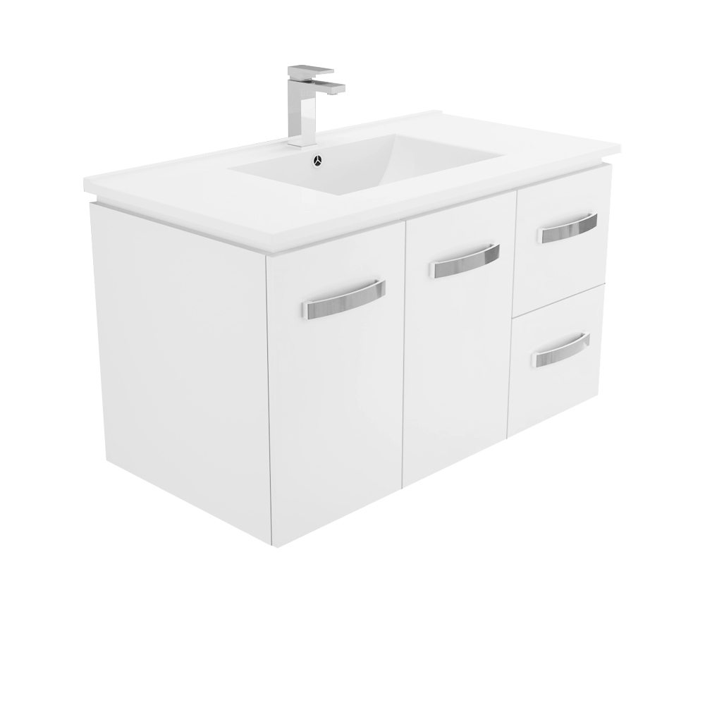 Dolce Vita Uni Cabinet  900  Wall Hung Vanity