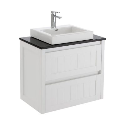 Hampton 750 Stone Top Wall Hung Vanity