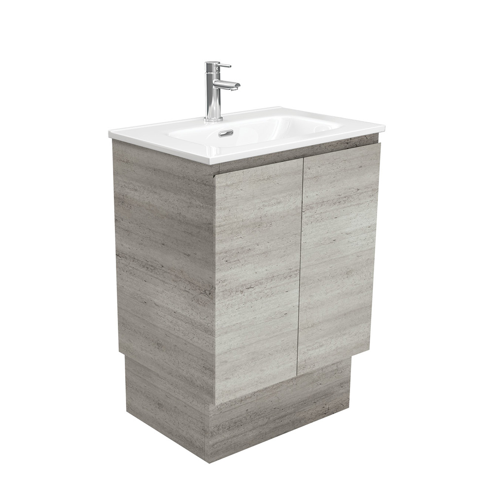 Joli Edge Industrial 600 Vanity on Kickboard