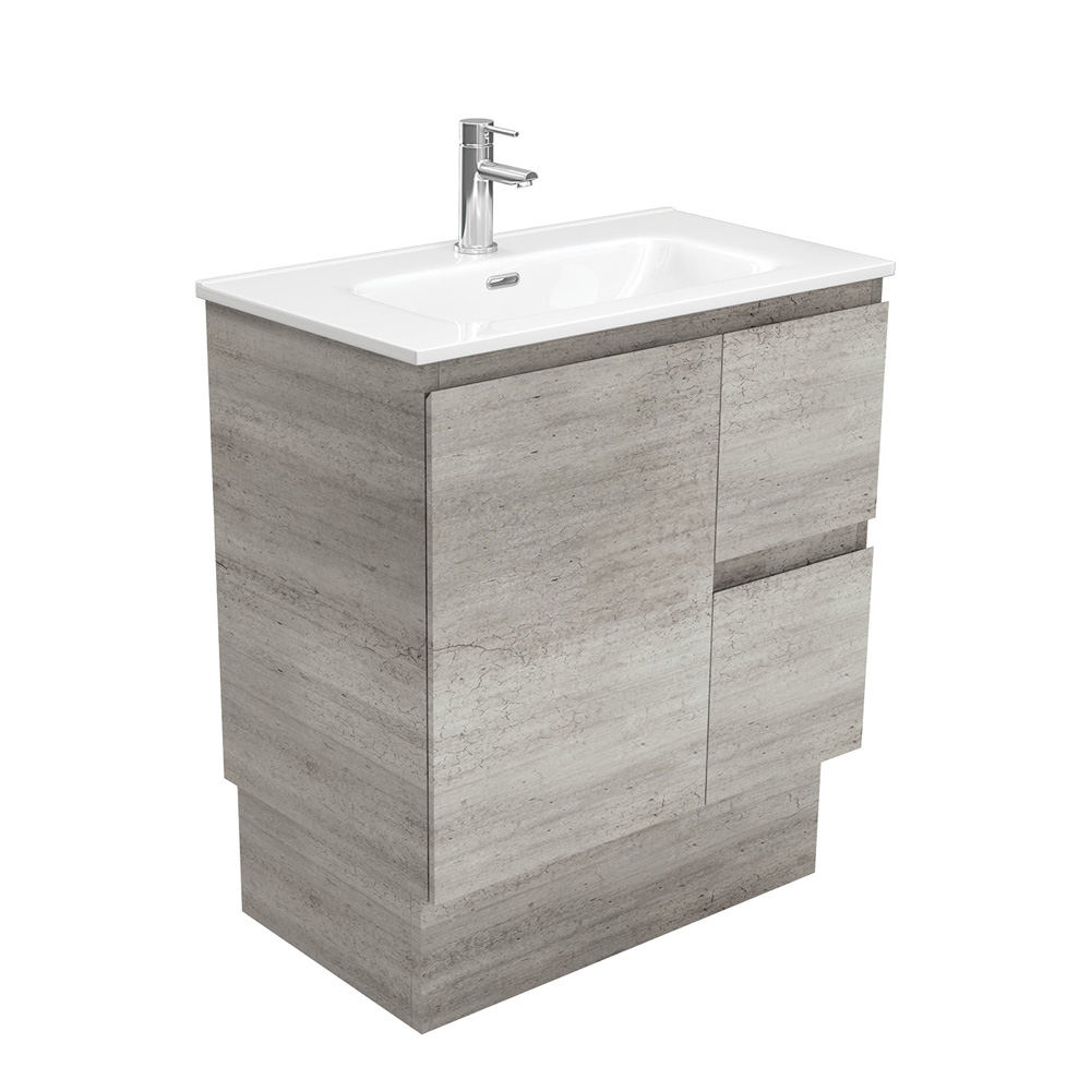Joli Edge Industrial 750 Vanity on Kickboard