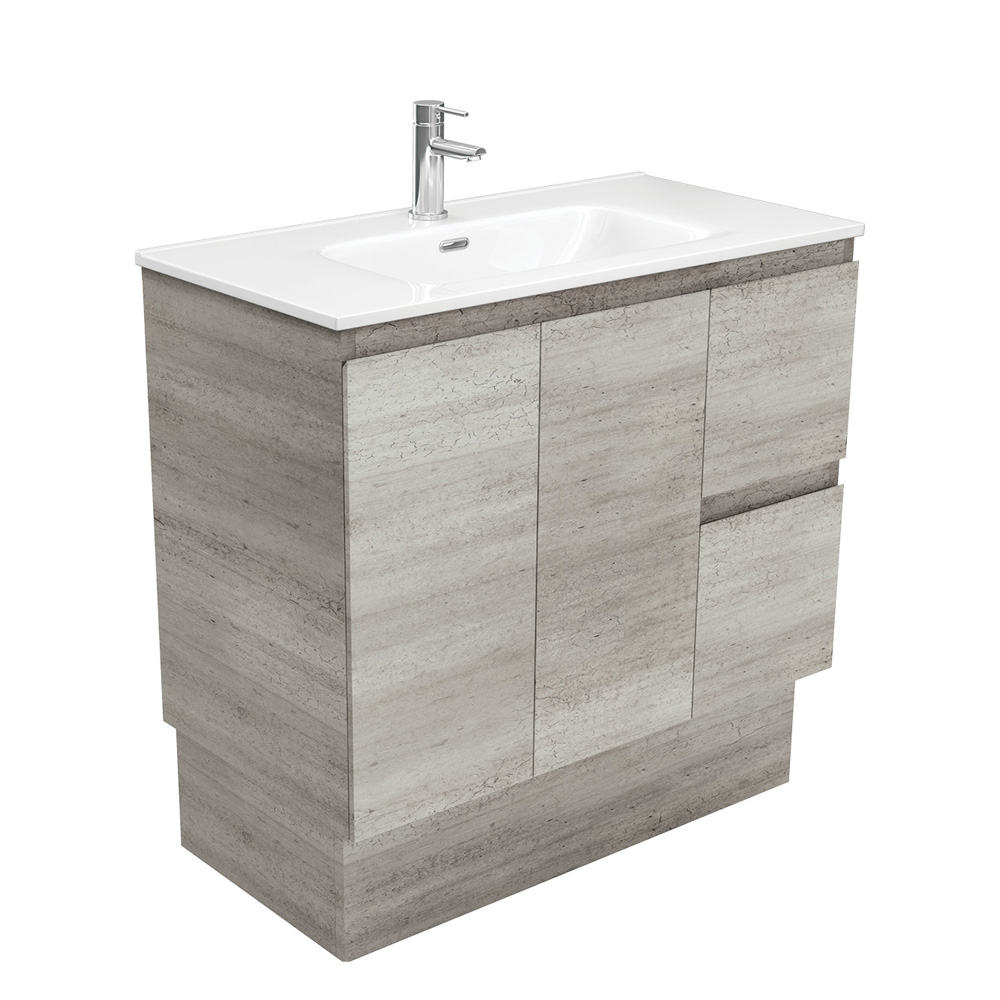 Joli Edge Industrial 900 Vanity on Kickboard