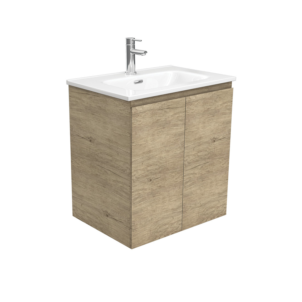 Joli Edge Scandi Oak 600 Wall-Hung Vanity