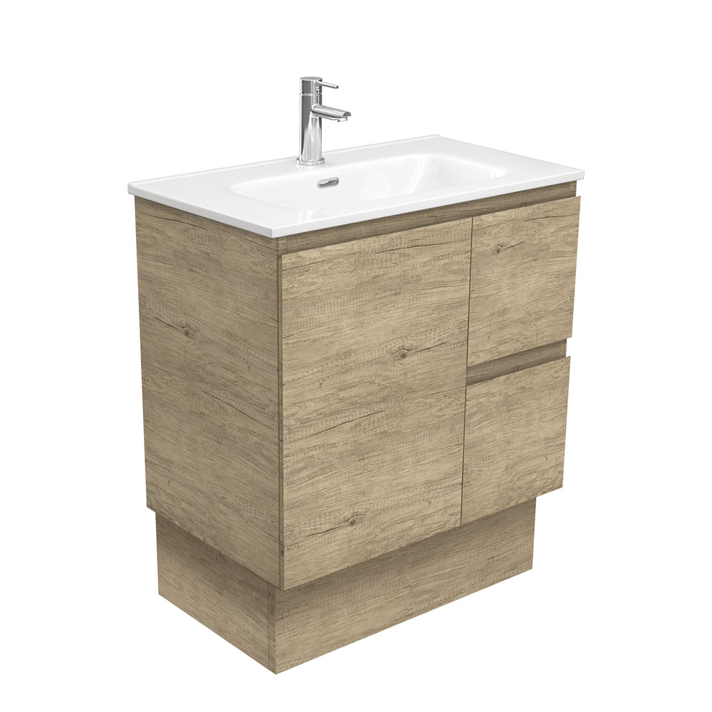 Joli Edge Scandi Oak 750 Vanity on Kickboard
