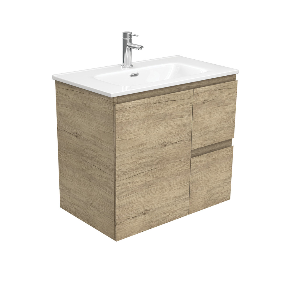 Joli Edge Scandi Oak 750 Wall-Hung Vanity