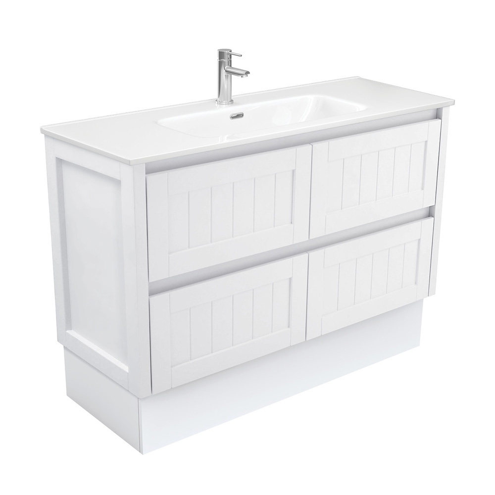 Joli Hampton 1200 Vanity on Kickboard