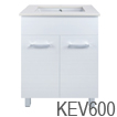 Kensington 600 vanity with kicker