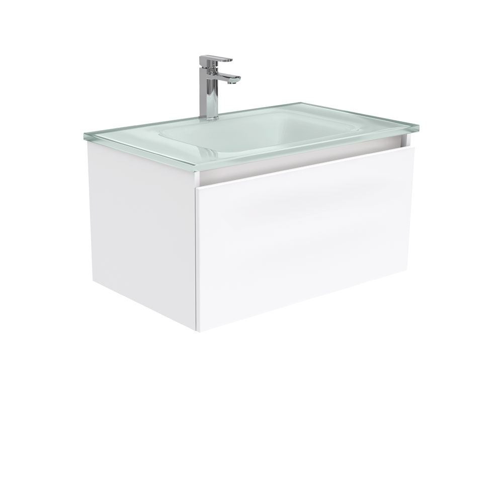 Mambo Ice Glass Manu 750 Wall Hung Vanity