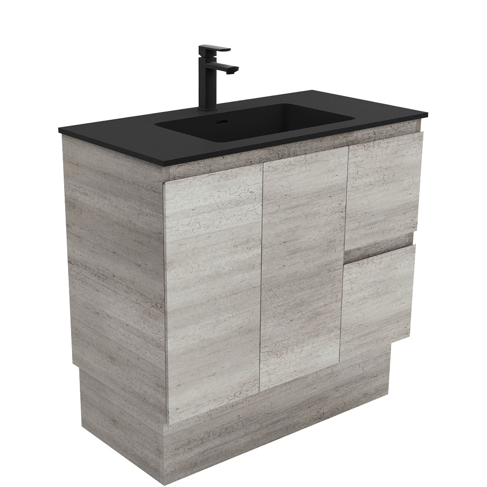 Montana Edge Industrial 900 Vanity on Kickboard