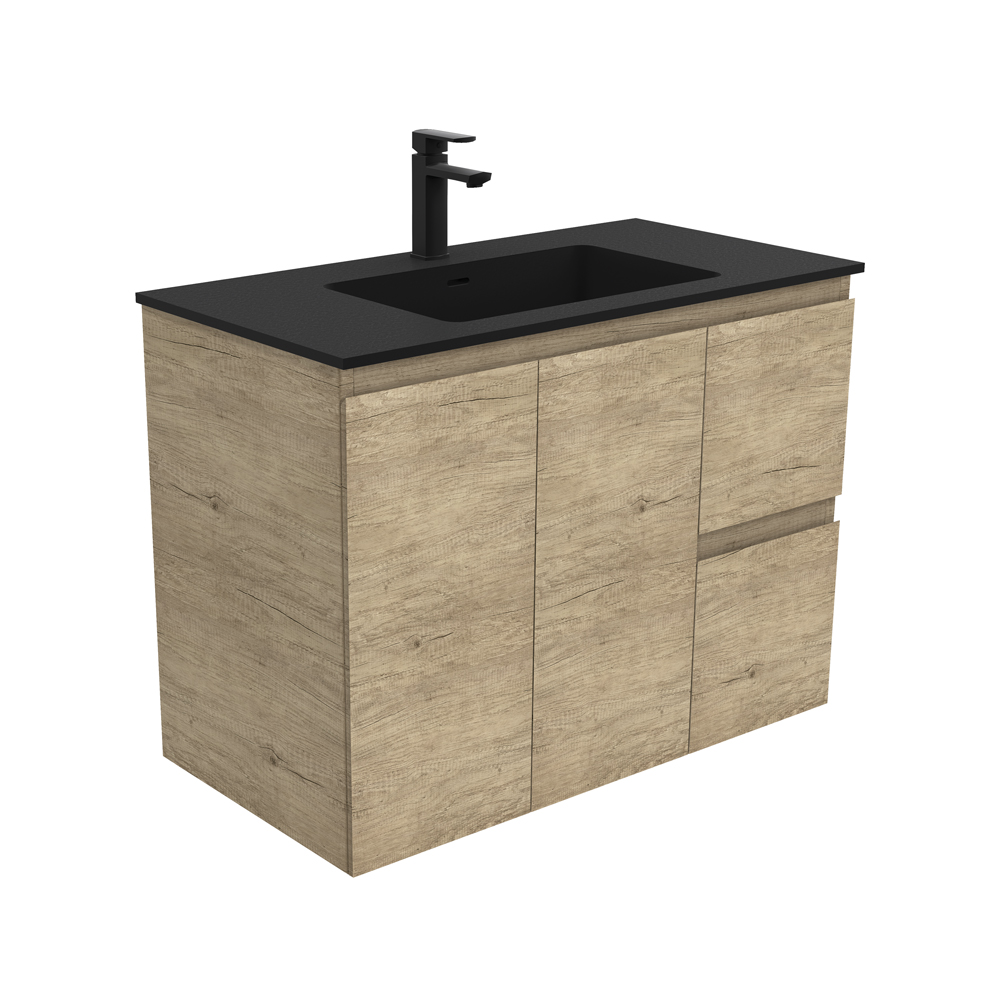 Montana Edge Scandi Oak 900 Wall-Hung Vanity