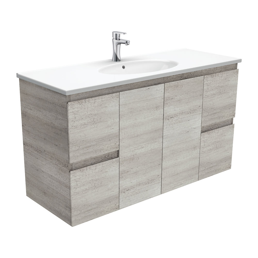 Rotondo Edge Industrial 1200 Wall-Hung Vanity