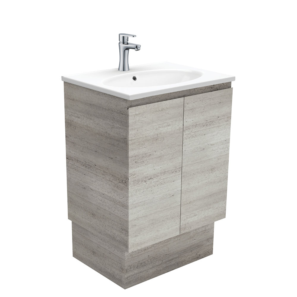 Rotondo Edge Industrial 600 Vanity on Kickboard
