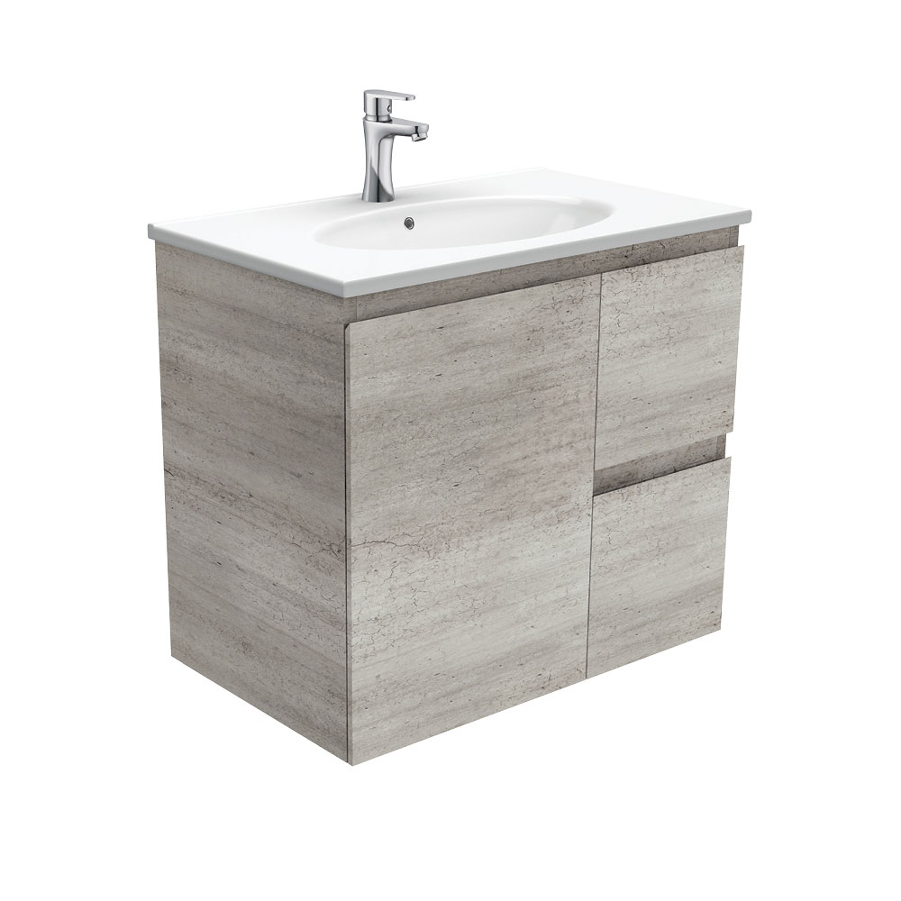 Rotondo Edge Industrial 750 Wall-Hung Vanity