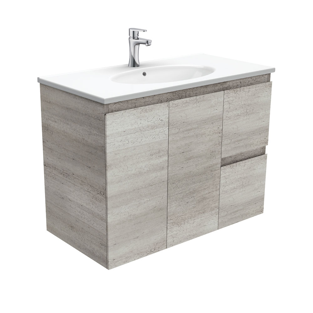 Rotondo Edge Industrial 900 Wall-Hung Vanity