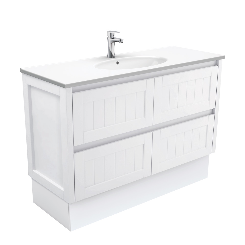 Rotondo Hampton 1200 Vanity on Kickboard