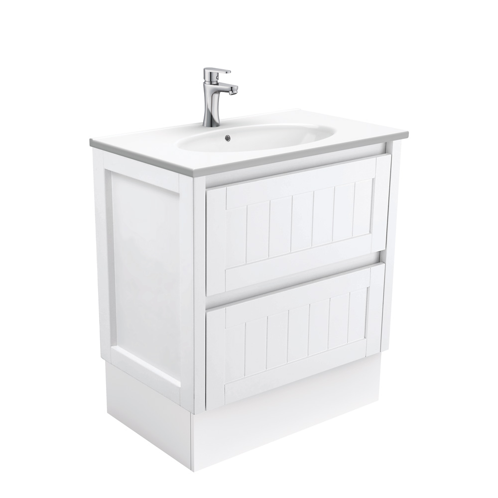 Rotondo Hampton 750 Vanity on Kickboard