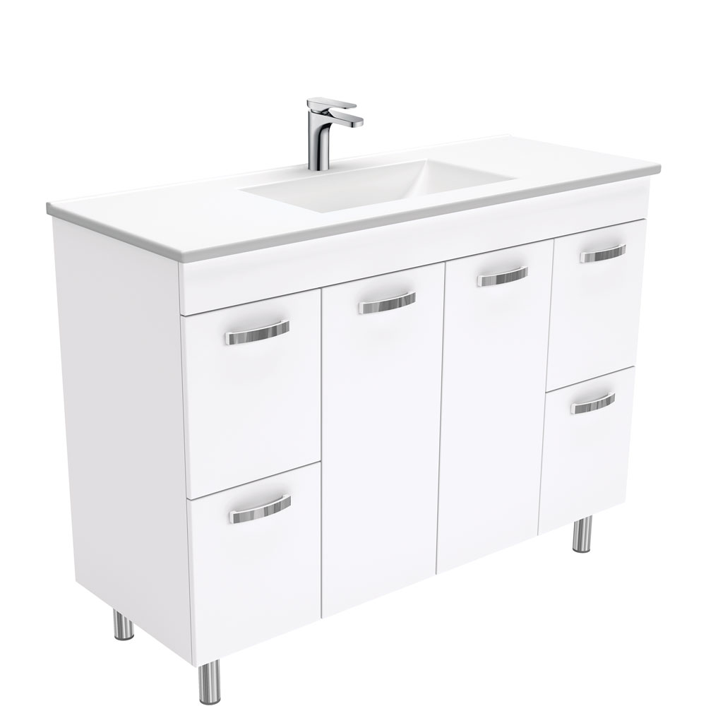 Vanessa UniCab 1200 Vanity on Legs