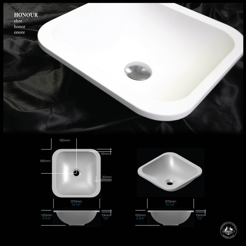 Honour Semi-Inset Basin