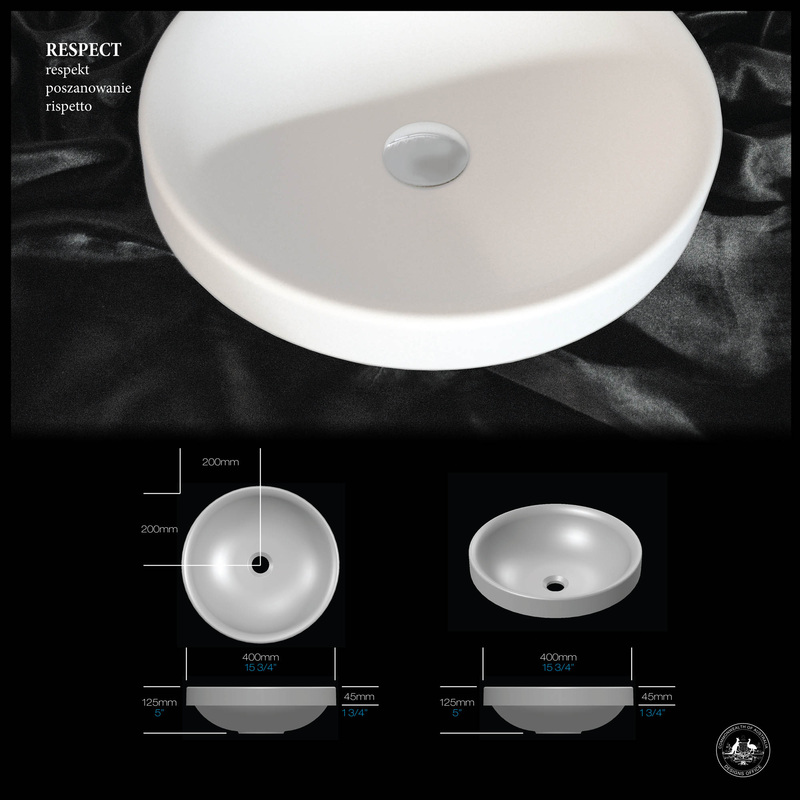 Respect Semi-Inset Basin