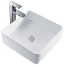 Tony 400 Slim Counter Top Basin - VCB418E