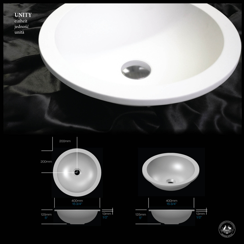 Unity Under-Counter Basin